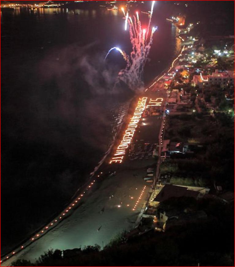 Festa di san Michele con fuochi d'artificio - Offerta 6 notti in b&b-